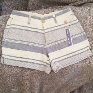 Artisan NY Linen Shorts Size 2